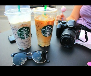 canon, starbucks, and summer image