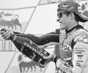 boy, champagne, and marquez image
