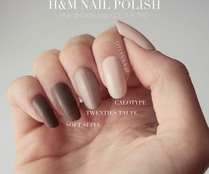 H&M, nails, and paznokcie image