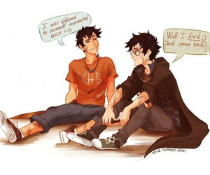 percy jackson and harry potter image