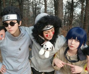 cosplay, hinata, and kiba image