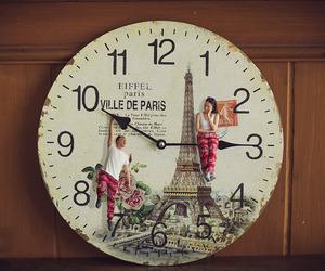 couple, paris, and vintage image