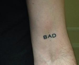 tattoo, bad, and grunge image