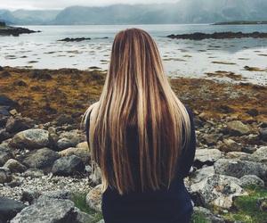 girl, hair, and life image