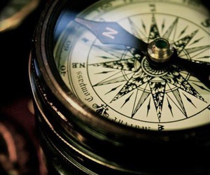 compass and vintage image