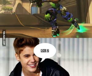funny, gamer, and overwatch image