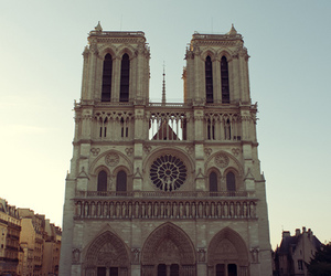 architecture, gothic, and notre dame image