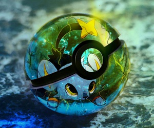 pokeball and pokemon image