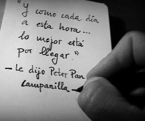 peter pan, frases, and frases en español image