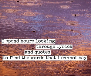 quotes, words, and Lyrics image