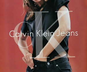 kate moss, model, and Calvin Klein image