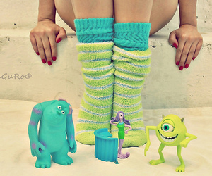 monster, monsters inc, and green image