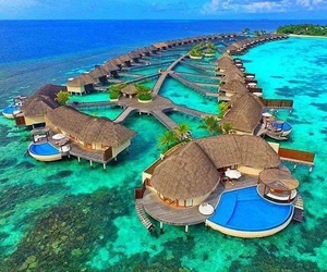 beautiful, islands, and vacation image
