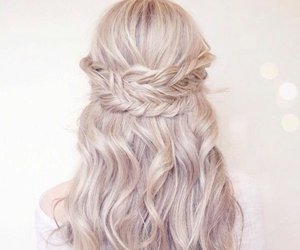 braid, hair, and beautiful image