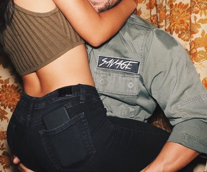 couple, cierra ramirez, and Relationship image