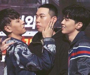 aomg, bewhy, and gray image