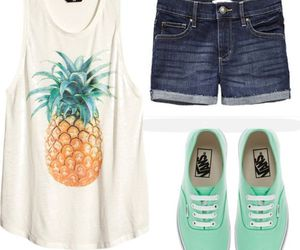 outfit, summer, and vans image