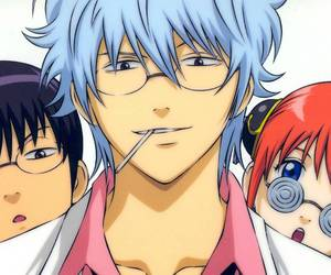 gintama, kagura, and gin tama image