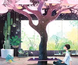 anime, art, and living room image