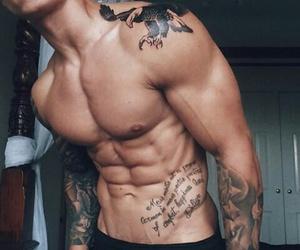 tatto, tatuaje, and hombre image