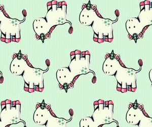 cute, iphone, and unicorn image