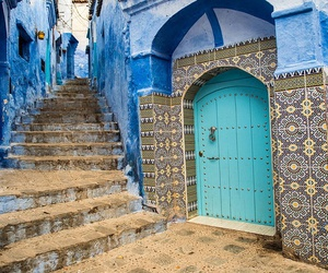 morocco, place, and blue image