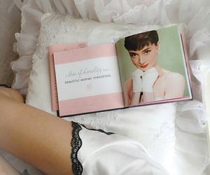 audrey hepburn, book, and girly image