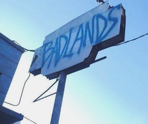blue, aesthetic, and badlands image