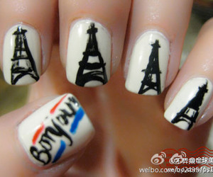 awesome, nails, and bonjour image