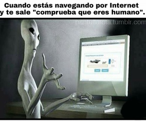 alien, lol, and memes image