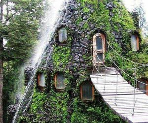 awesome, hotel, and pucon image