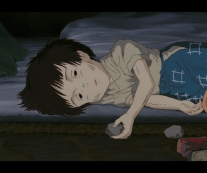 grave of the fireflies and setsuko image