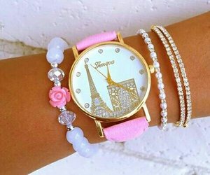 girly, jewels, and pink image