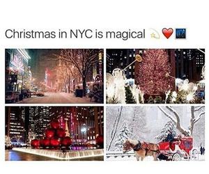 christmas and nyc image