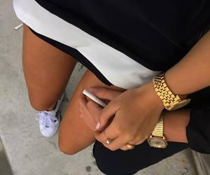 girl, iphone, and luxury image