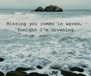 distance, missing you, and quotes image