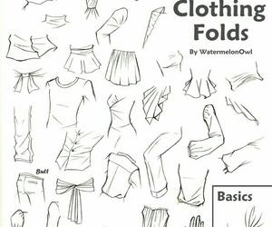 clothing and folds image