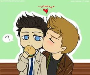 supernatural, destiel, and dean image