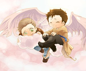 supernatural and destiel image