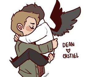 supernatural, dean, and destiel image