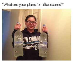 exams and vodka image