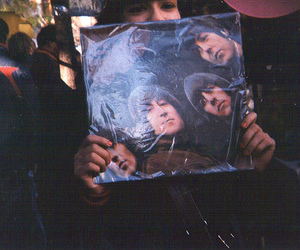 the beatles, music, and vintage image