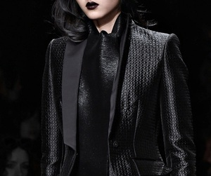 blackhair and gothic design image