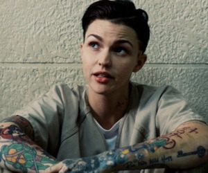 ruby rose, quote, and orange is the new black image