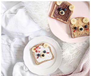 breakfast, chocolate, and yum image