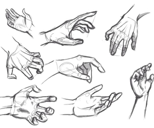 draw, drawing, and hands image