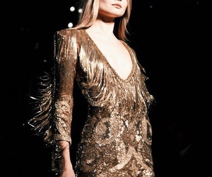 gold and dress image