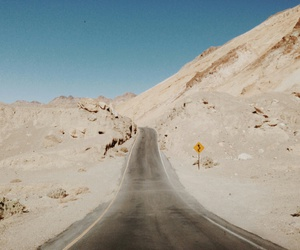 road, indie, and desert image