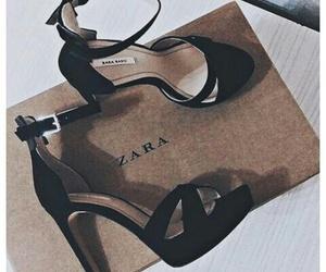 alternative, zara shoes, and high heels image