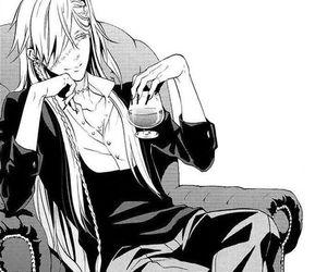 undertaker, black butler, and manga image